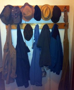 double row coat rack carolyn
