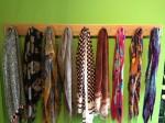 usethings wooden coat hooks, coat pegs, coat rack