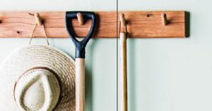 solid timber coat rack from usethings