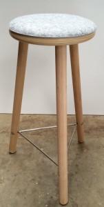 healthy sitting on work stool