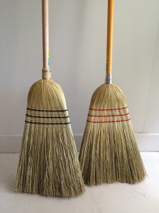 millet broom hand made in Australia