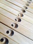 plantation sugar gum drying rack end frames in production