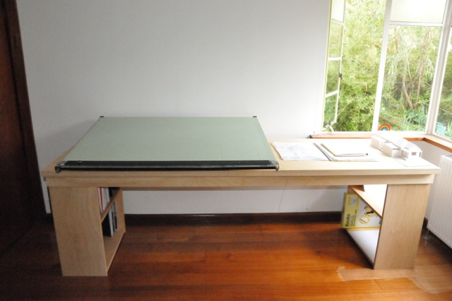 plywood office table