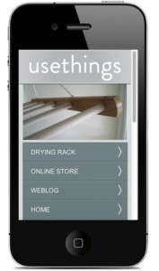 mobile site screen shot
