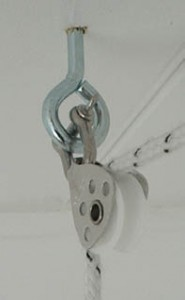 sailing pulley for drying rack