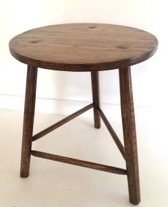 Oak table small, occasional, bedside