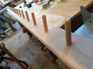 4m recycled timber coat rack