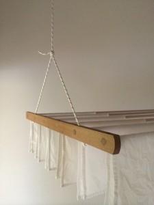 drying rack white cloth