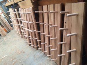 wooden coat racks